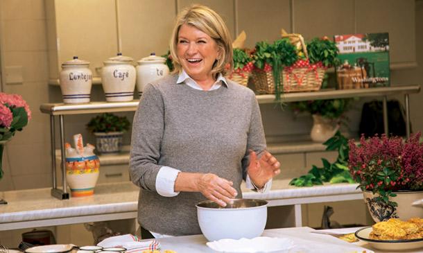 Martha Stewart: clase maestra de cocina en la embajada de Estados Unidos en Madrid