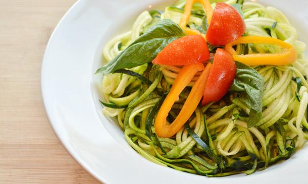 'Zoodles': pasta parece, verdura es