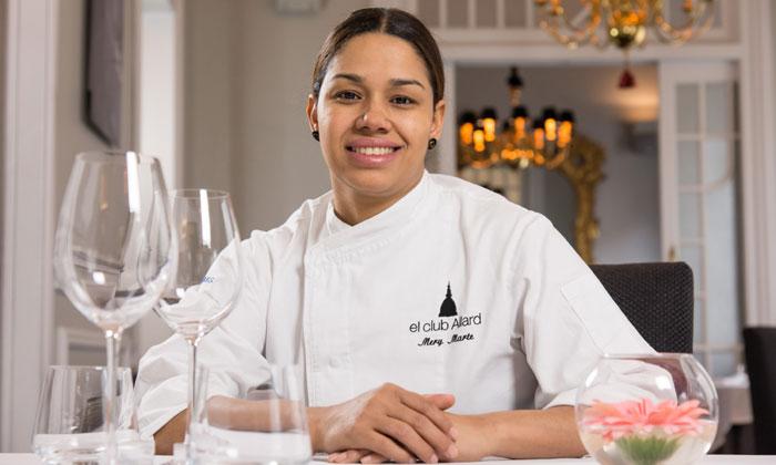 María Marte, chef de 'El Club Allard': '¿Post vanguardia culinaria? ¡Lo que hay que hacer es cocinar rico y dejarnos de tanta tontería!'