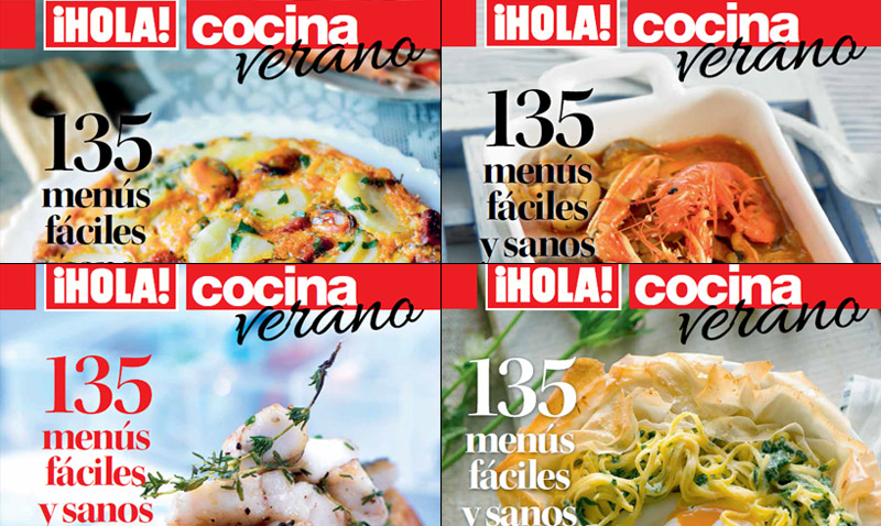 Votación: ¿Cuál quieres que sea la portada del próximo 'Especial Cocina' de ¡HOLA!?