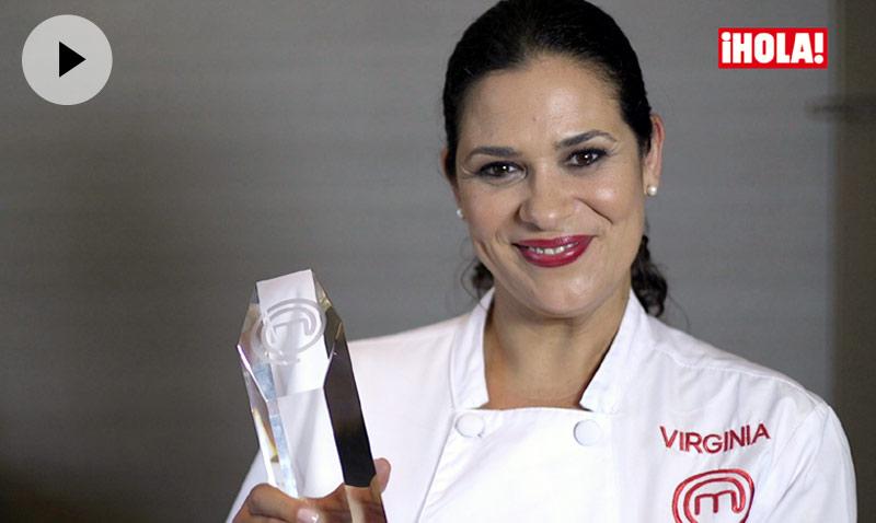 Virginia: 'En ningún momento imaginé que podría ser la ganadora de MasterChef'