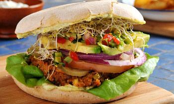 Planes gastro novedades 39 entre pan y pan 39 foto 1 for Cocina vegana gourmet