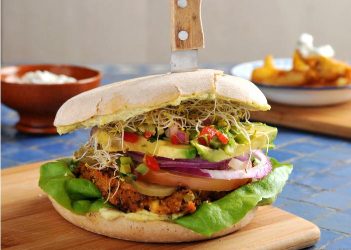 Planes gastro novedades 39 entre pan y pan 39 foto 2 for Cocina vegana gourmet