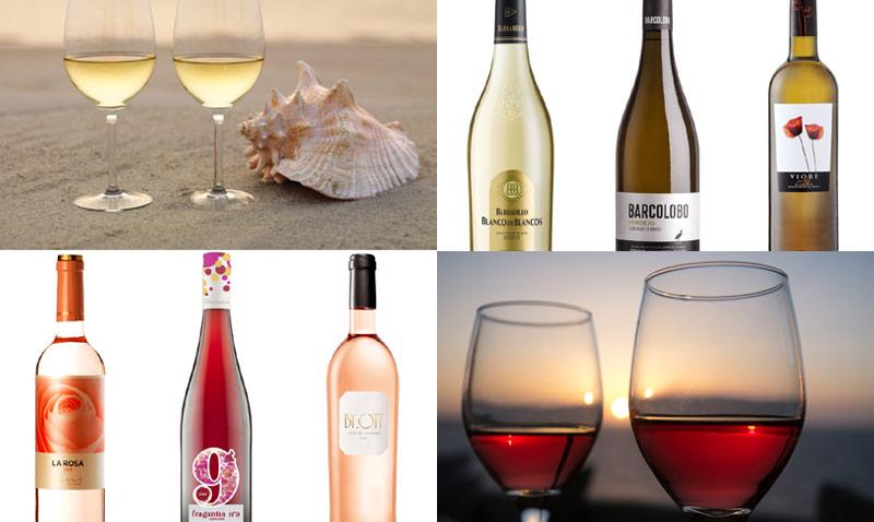 Vinos blancos y rosados: ¿brindamos por el verano?