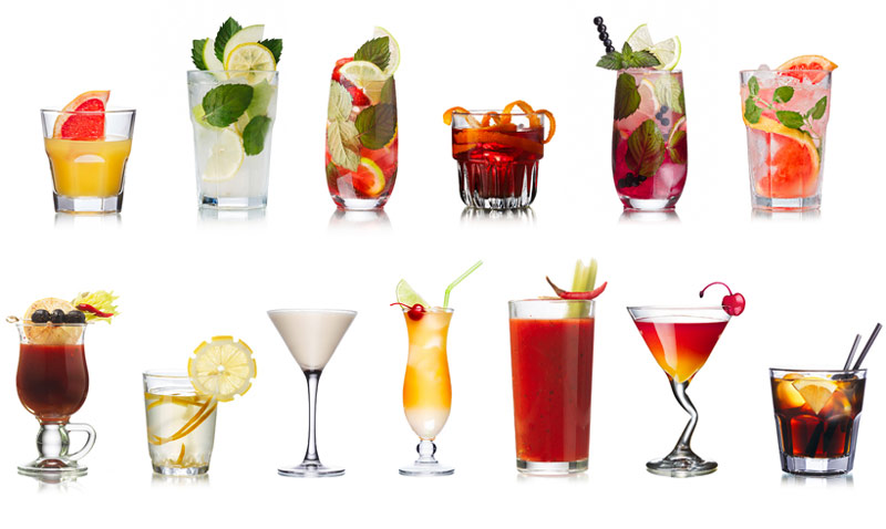 Tips gastro a cada c ctel su vaso foto for Copas y vasos para bar