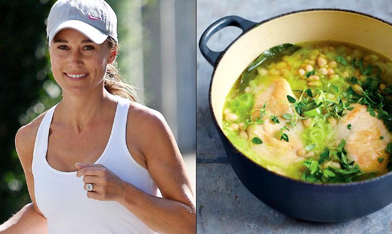 ¿Cómo es la dieta de Pippa Middleton para estar en forma y tener una salud 'de hierro'?