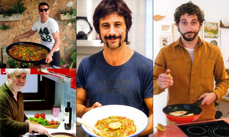 Hugo Silva, Paco León, Miguel Ángel Silvestre… ¿cuáles son sus platos favoritos?