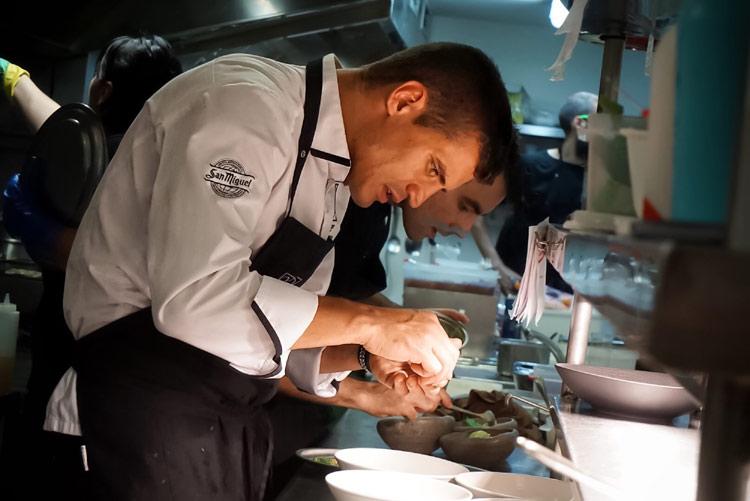 Miguel cobo ex concursante de 39 top chef 39 consigue su for Estrella michelin cocina
