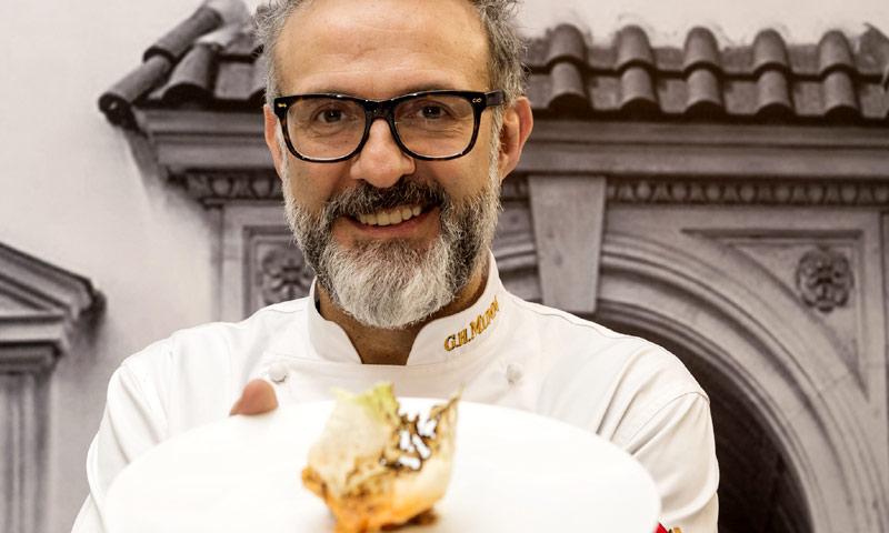 Charlamos con Massimo Bottura, chef del 'Mejor restaurante del mundo'