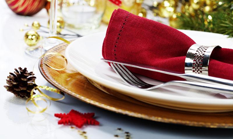 Comidas y cenas prenavideñas: mesas para brindar por 2017