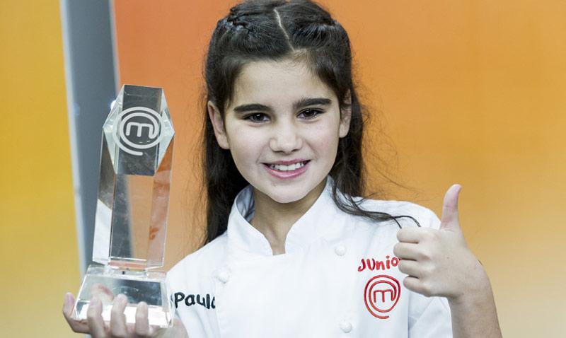 Paula, ¡ganadora de 'MasterChef Junior'!