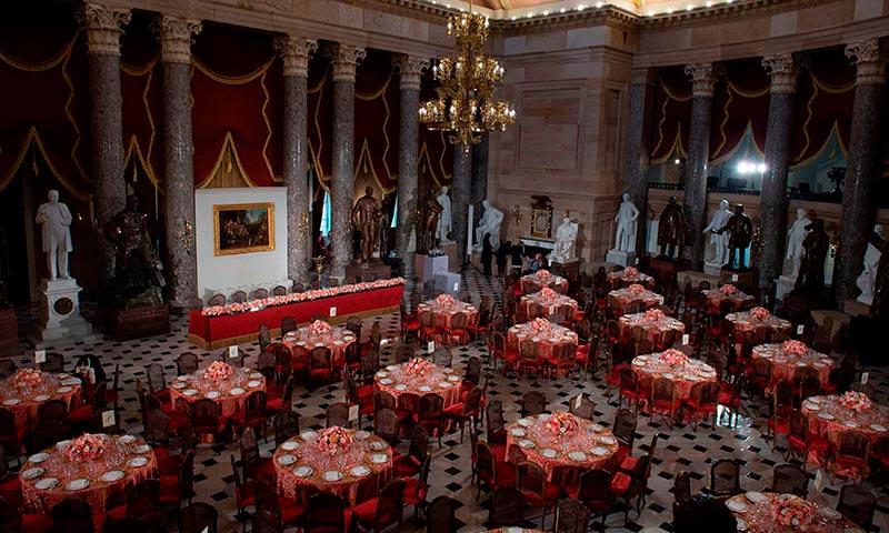 Todo a punto para la celebración del almuerzo tras la investidura, ¿quieres saber el menú?