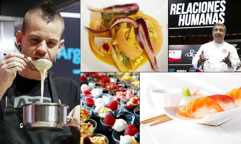 David Muñoz, los hermanos Roca, tapas de premio, cocina 'japo'… ¿qué ha dado de sí la segunda jornada de 'Madrid Fusión'?