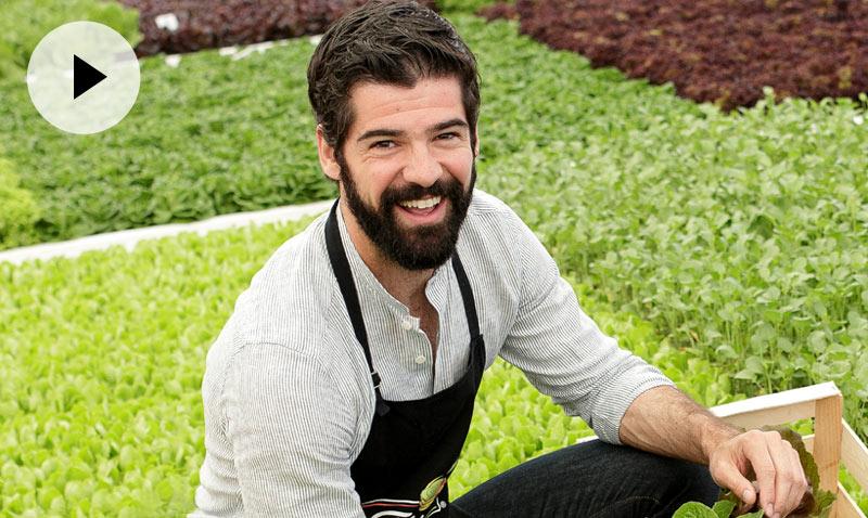 Miguel Ángel Muñoz: 'Todavía no he puesto en práctica mis conocimientos de cocina para ligar'