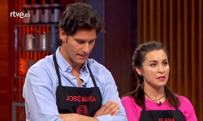 La cocina con insectos juega una mala pasada a Jose María, expulsado (definitivamente) de Masterchef