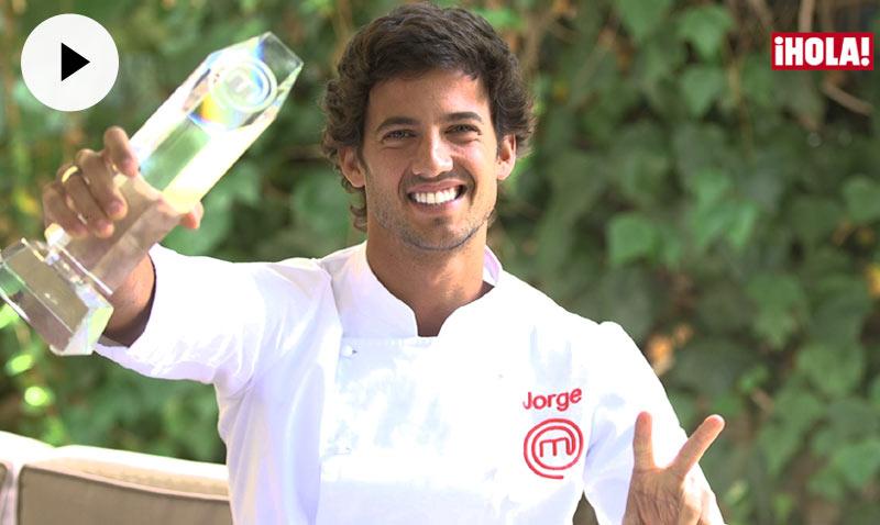 Jorge, ganador de MasterChef: 'Mi relación con Miri ha sido y es preciosa'