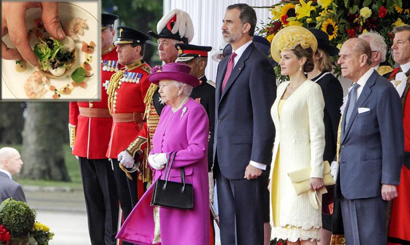 ¿Qué han degustado los Reyes de España en el almuerzo privado ofrecido en el Palacio de Buckingham?