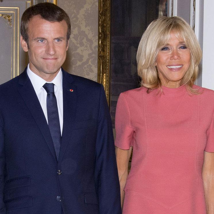 El 'secreto' de Brigitte Macron para lucir tipazo (y las debilidades gastro de su esposo)