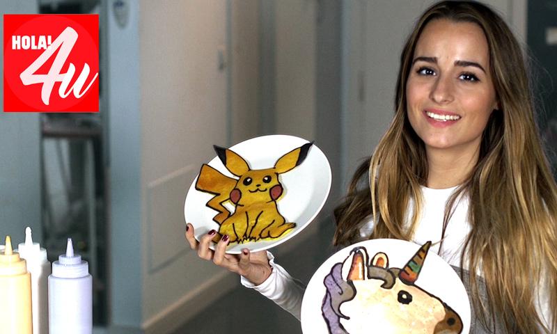 En HOLA!4u, dibujando con tortitas con Sylvia Salas