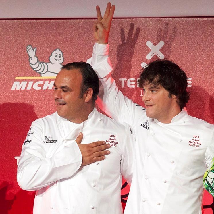 Estrellas Michelin 2018: ABaC (Jordi Cruz) y Aponiente (Ángel León)… ¡los nuevos 'tres estrellas'!