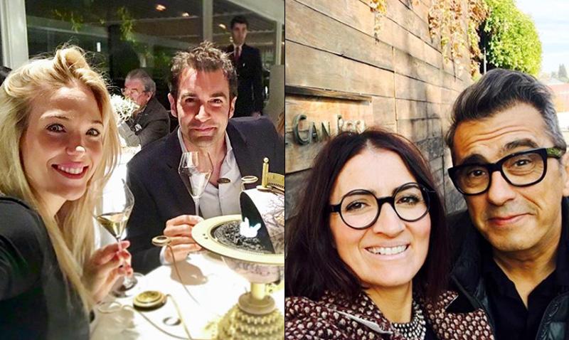 Patricia Montero y Silvia Abril: nueva visita a El Celler de Can Roca, en muy buena compañía