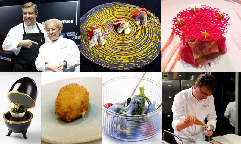 Platos insólitos, croquetas de premio, cocina azul… lo mejor de Madrid Fusión, foto a foto