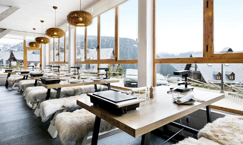 ¡A punto de nieve! Restaurantes 'top' para tus días de esquí