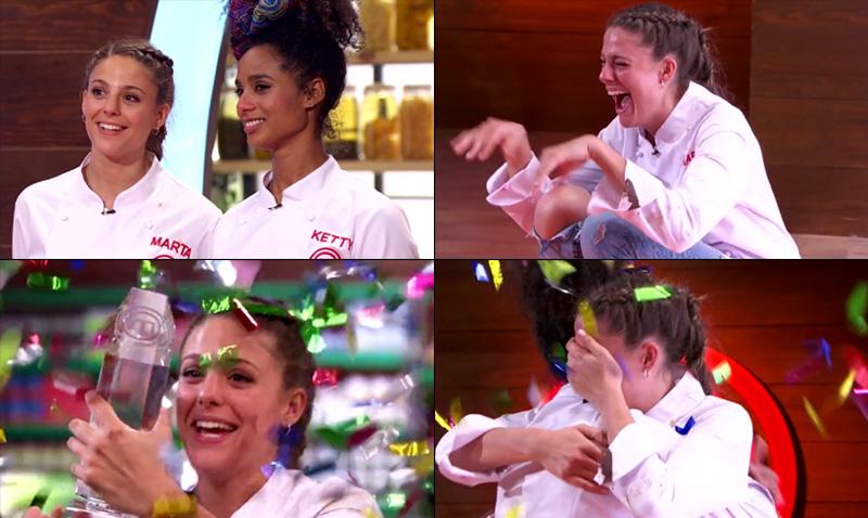 Y la ganadora de la sexta edici n de masterchef es marta - Escuela de cocina masterchef ...