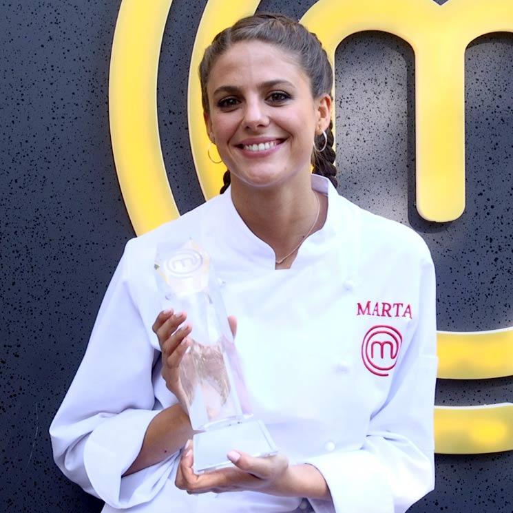 """Entrevistamos a Marta, ganadora de MasterChef: """"No he recibido ningún trato de favor en el programa"""""""
