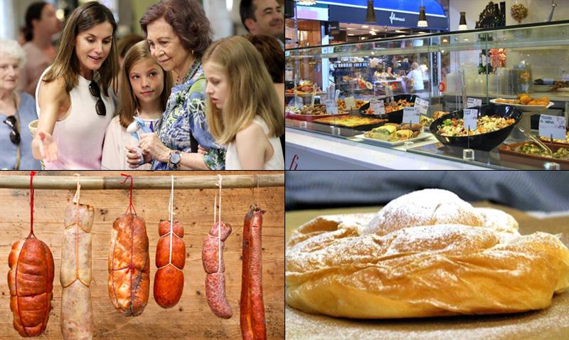 'Mercat de l'Olivar': así es el mercado que las Reinas han visitado con Leonor y Sofía