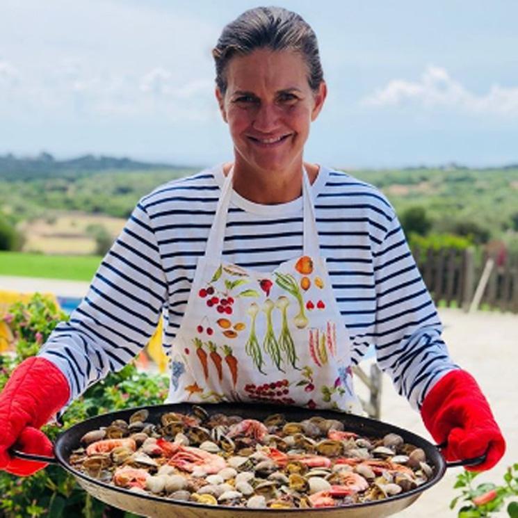 """La receta de Samantha Vallejo-Nágera para preparar una """"súper paella"""""""