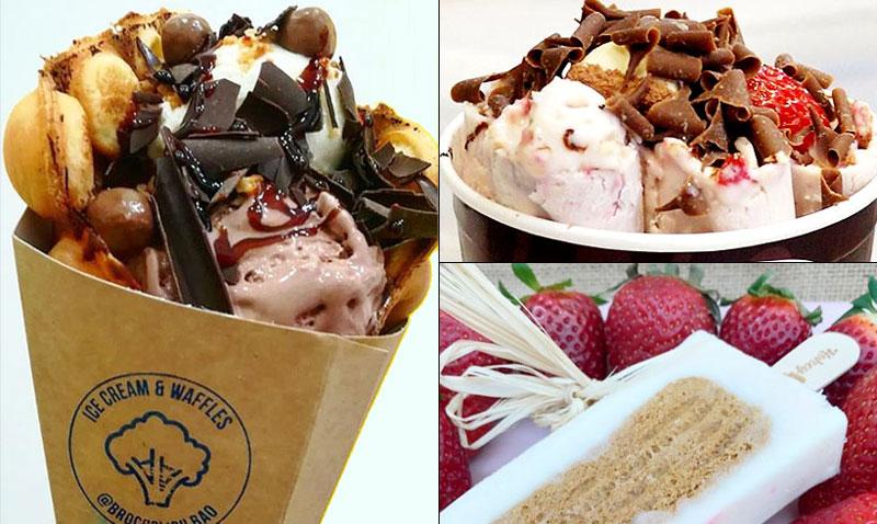 Estos son los helados que triunfan en Instagram. ¿Aún no los has probado?