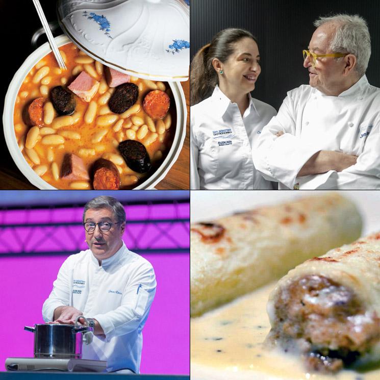 'San Sebastián Gastronomika': De la fabada y los canelones a la cocina de vanguardia