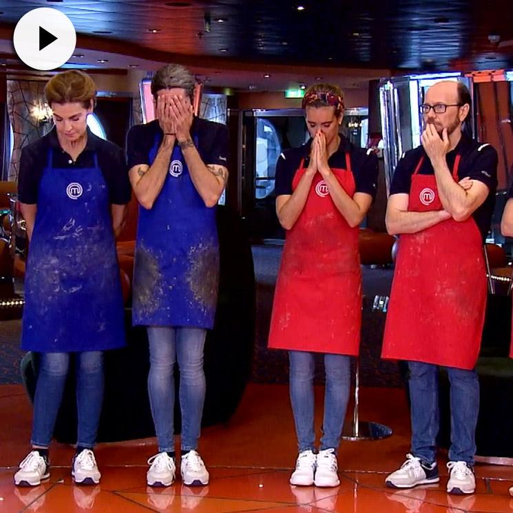 MasterChef 'top moments': los primeros semifinalistas y el gran enfado de Santiago Segura