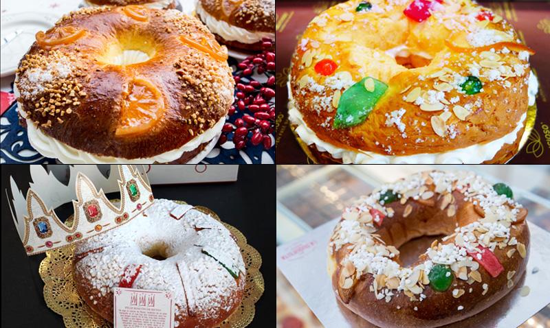 ¿Los mejores roscones de Reyes de España? ¡Estos son algunos!