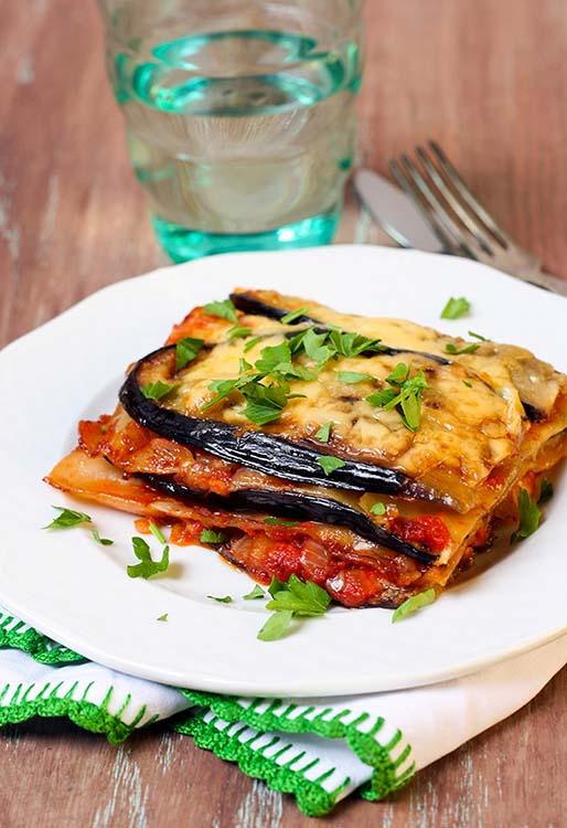 recetas-lasaña-sin-pasta-cenas-ligeras-berenjenas