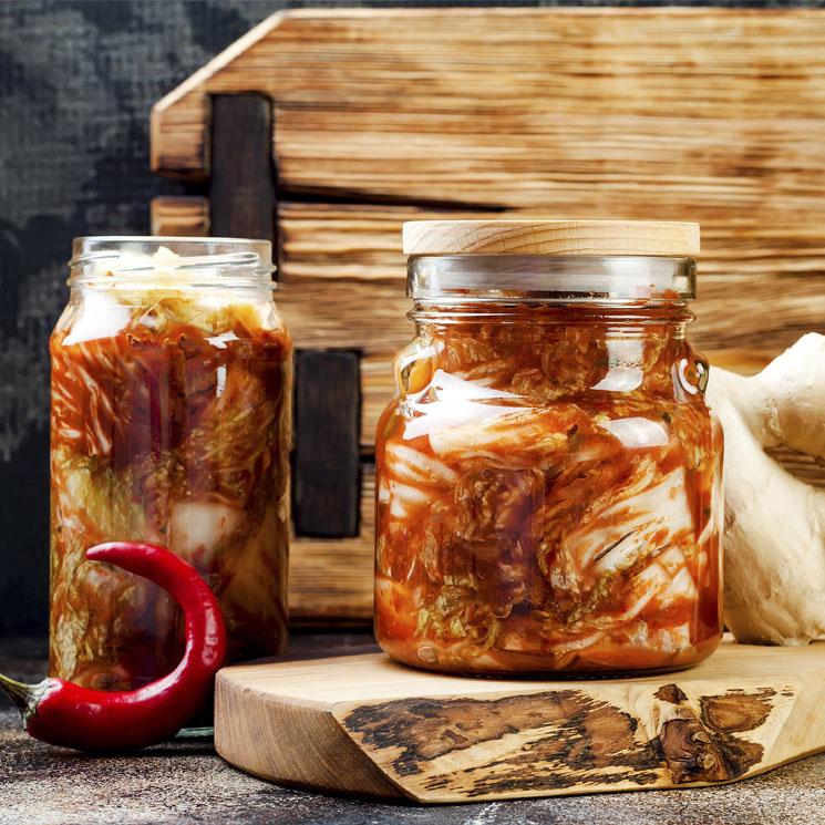 'Kimchi' coreano: el probiótico de moda que puedes hacer en casa
