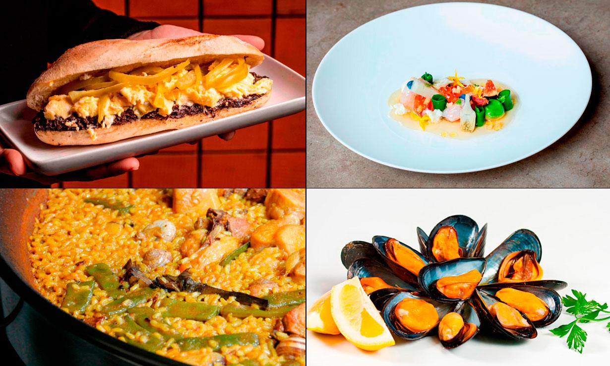 Ruta 'gastro': los mejores restaurantes para comer en Valencia