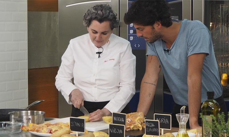 Pepa Muñoz y Jorge Brazález nos enseñan a preparar un pollo de corral al estilo campero