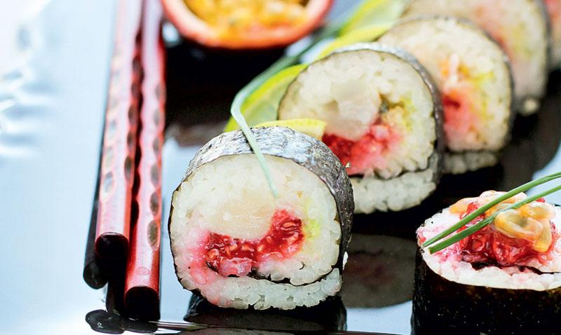 Y de postre… ¡'sushi'!