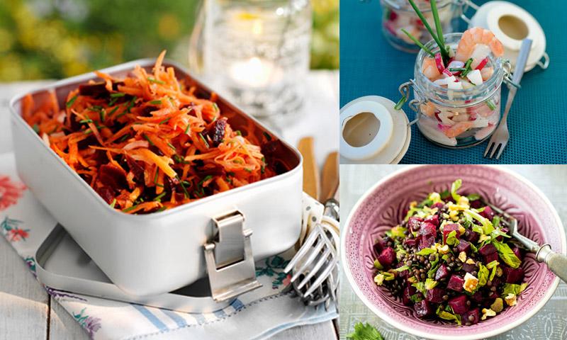 recetas de ensaladas de la dieta mediterranea