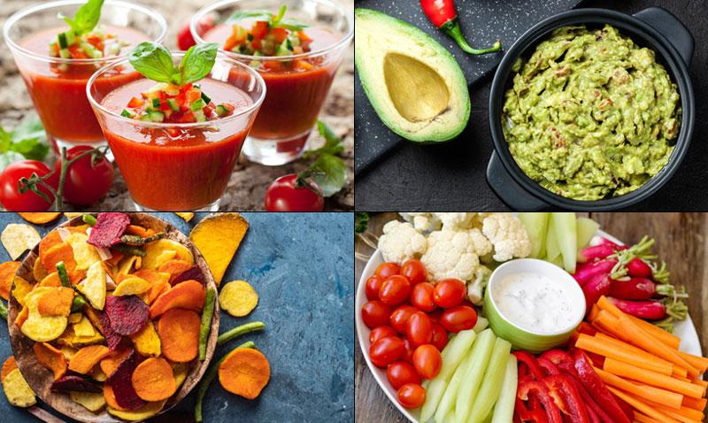 Cocina ligera: 10 ideas muy sencillas para un picoteo 'healthy'… ¡y delicioso!