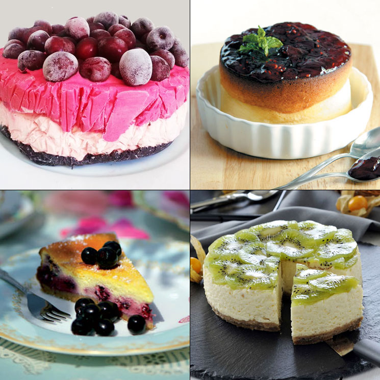Cuatro tartas de queso a las que no podrás resistirte