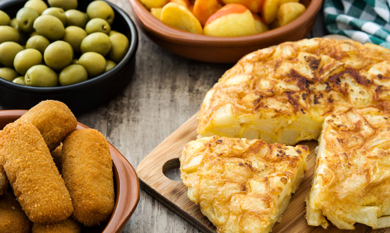 Votación: Tortilla de patatas, ensaladilla rusa… ¿cuál es tu tapa favorita?