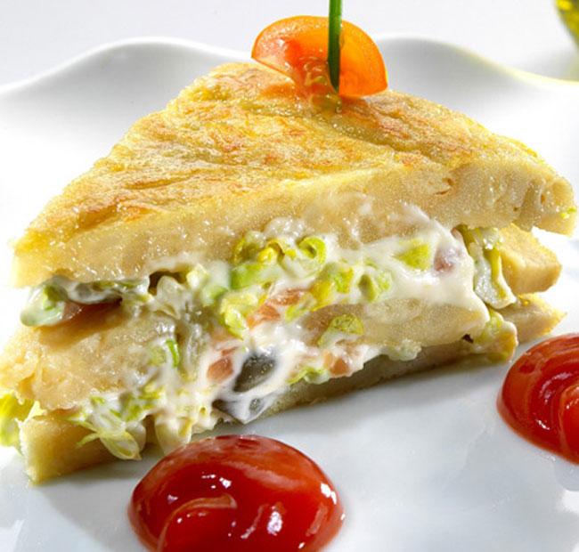 tortilla- rellena