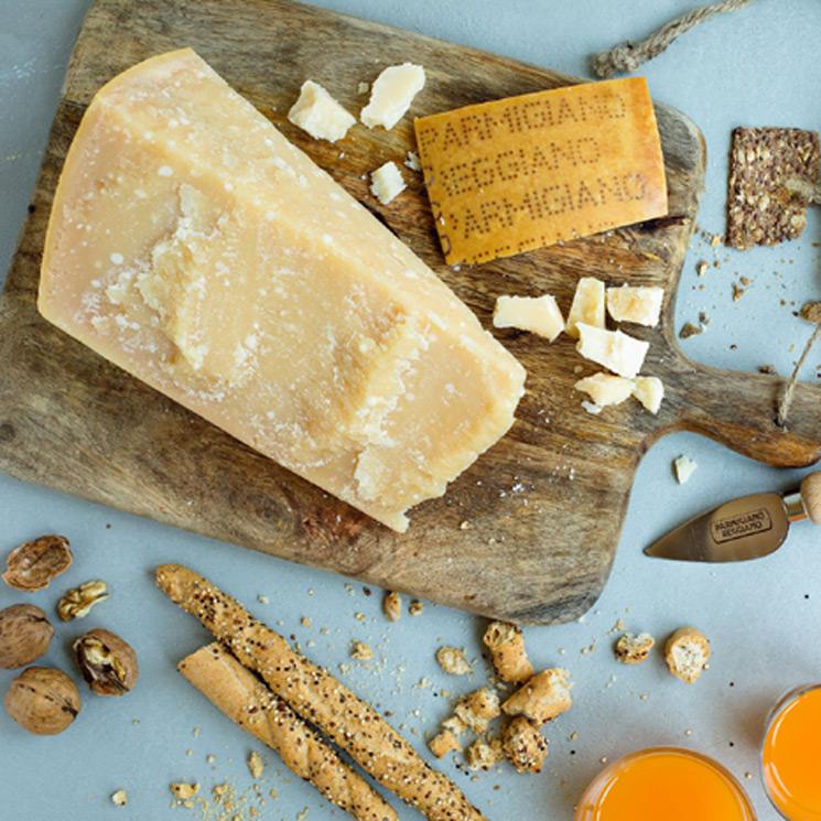 Que te la den con queso... 'Parmigiano Reggiano'