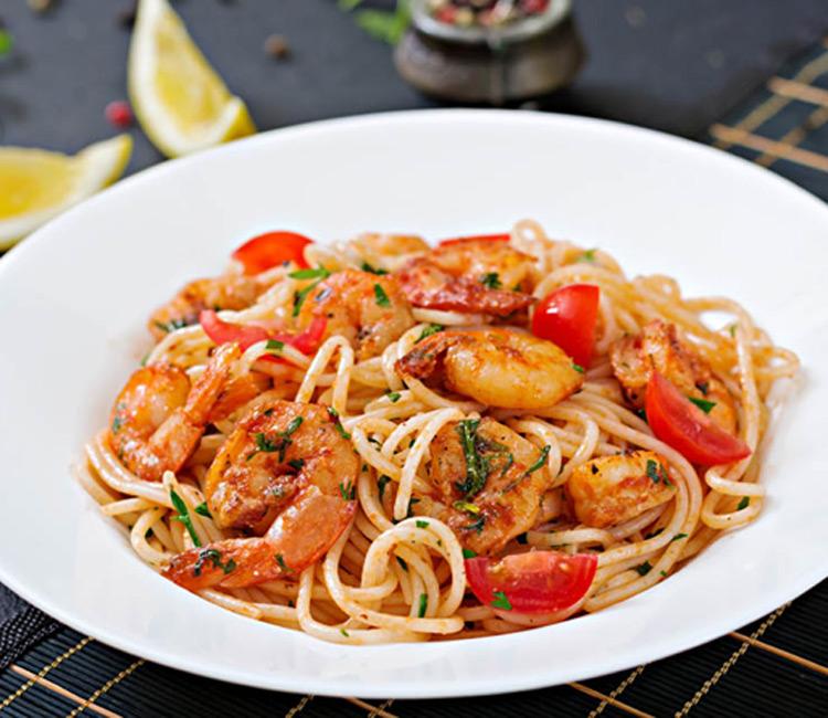 espaguetis-gambas
