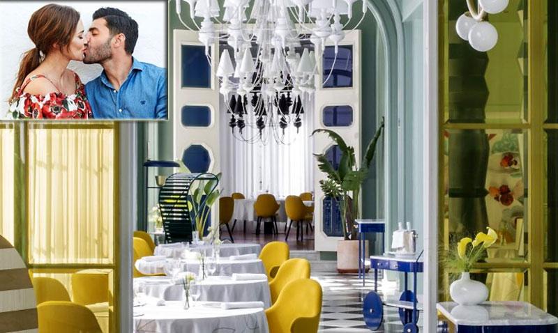 Así fue la cena de Paula Echevarría y Miguel Torres en el restaurante de Paco Roncero