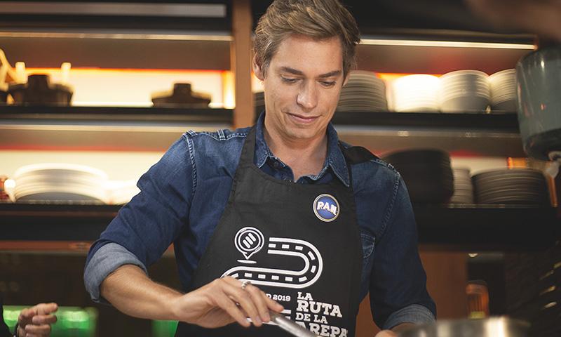 Carlos Baute nos cuenta cómo se consigue la arepa perfecta