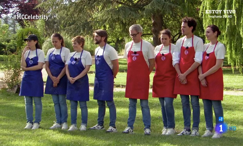 Repesca y doble expulsión en las cocinas de 'MasterChef Celebrity'